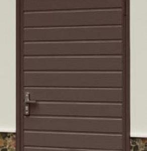 Дверь наружная гаражная утепленная пенополиуретаном